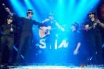 Vivaan Shah, Sonu Sood, Boman Irani, Shah Rukh Khan and Abhishek Bachchan performed SLAM! The Tour at San Jose