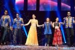 Sonu Sood, Shah Rukh Khan, Deepika Padukone, Farah Khan, Malaika Arora Khan and Abhishek Bachchan performed SLAM! The Tour at San Jose