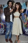 Ali Fazal and Rhea Chakraborty during the interaction session with the media Pic 1