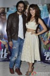 Ali Fazal and Rhea Chakraborty during the interaction session with the media Pic 2