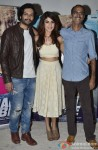 Ali Fazal, Rhea Chakraborty and Rohan Sippy during the interaction session with the media