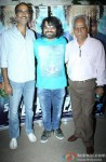Rohan Sippy, Pritam Chakraborty and Ramesh Sippy durng the special screening of 'Sonali Cable'
