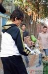 Swachh Bharat: Amitabh Bachchan Cleans Mumbai Streets Pic 2