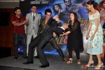 Kumaar, Boman Irani, Sonu Sood, Shah Rukh Khan, Farah Khan, Deepika Padukone during the launch of Video Song 'Sharabi'