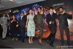 Boman Irani, Farah Khan, Shah Rukh Khan, Deepika Padukone, Sonu Sood, Vivaan Shah and Shekar Ravjiani during the launch of Video Song 'Sharabi'