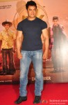 Aamir Khan during the teaser trailer launch of movie 'PK'
