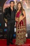 Shah Rukh Khan and Gauri Khan during The Grand World Premiere of Happy New Year in Dubai
