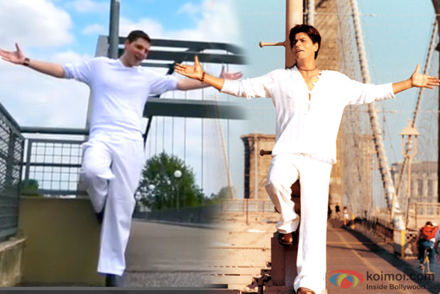 The 'Kal Ho Naa Ho' Song Like Never Before; Tribute To SRK By German Fan