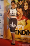 Ileana D'cruz during the trailer launch of movie 'Happy Ending'