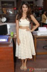 Rhea Chakraborty during the on set shoot of movie 'Bank Chor' Pic 1