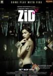 Karanvir Bohra, Barbie Handa and Mannara starrer Zid Movie Poster 1