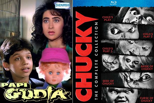 Posters of Papi Gudiya and Chucky