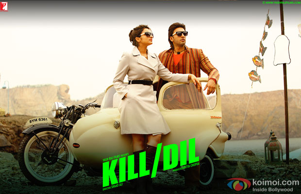 Parineeti Chopra and Ranveer Singh in a still from movie 'Kill Dil'