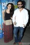 Kareena Kapoor and Saif Ali Khan at Special Screening Of 'Happy Ending'