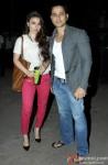 Soha Ali Khan and Kunal Khemu at Special Screening Of 'Happy Ending'