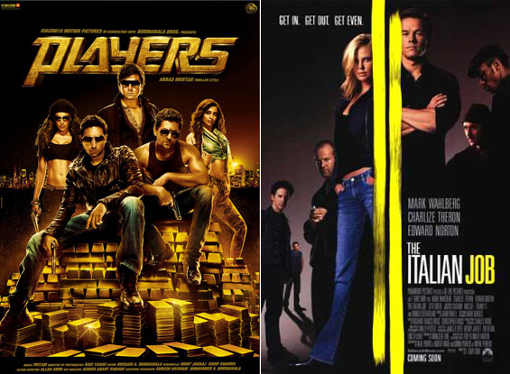 Posters of Players and The Italian Job