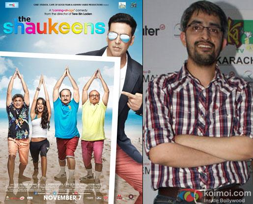 'The Shaukeens' movie poster and Abhishek Sharma