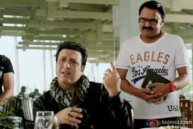 Govinda in a still from movie 'Happy Ending'