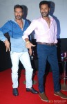 Ajay Devgn and Prabhu Dheva during the Action Jackson Song Launch Pic 2