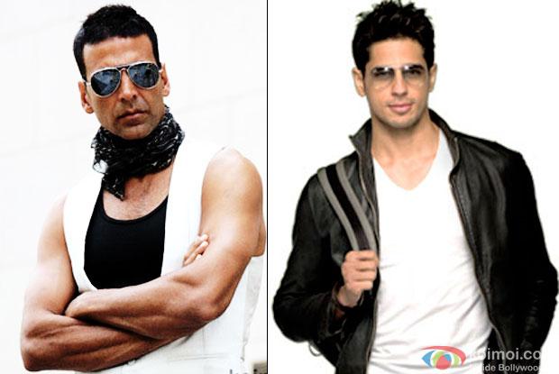 Akshay Kumar And Sidharth Malhotra