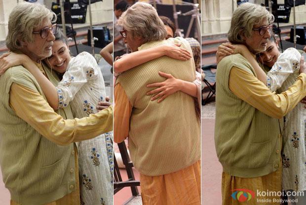 Amitabh Bachchan, Deepika Padukone Snapped Sharing Father-Daughter Moments In 'Piku'