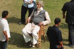 Amitabh Bachchan Spotted During 'Piku' Shoot Pic 1