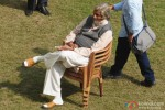 Amitabh Bachchan Spotted During 'Piku' Shoot Pic 4