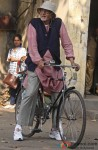 Amitabh Bachchan Spotted In Kolkata Shooting For 'Piku' Pic 2