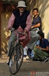 Amitabh Bachchan Spotted In Kolkata Shooting For 'Piku' Pic 3