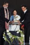 Amitabh Bachchan, Mamata Banerjee and Shah Rukh Khan Attend Kolkata Film Festival Pic 1