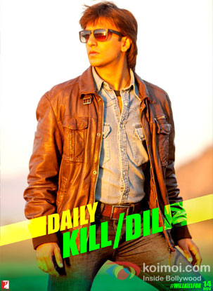 Ranveer Singh in a still from movie 'Kiil Dil'