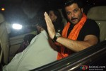 Anil Kapoor with his wife Sunita Kapoor visits Siddhivinayak Temple Pic 1