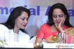 Simi Garewal and Hema Malini during the Announcement of 2nd National Yash Chopra Memorial Award