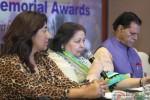 Anu Ranjan, Pamela Chopra and T. Subbarami Reddy during the Announcement of 2nd National Yash Chopra Memorial Award