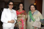 Simi Garewal, Hema Malini and Pamela Chopra during the Announcement of 2nd National Yash Chopra Memorial Award
