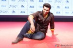 Arjun Kapoor during the trailer lainch of movie 'Tevar'