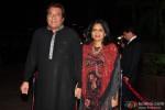 Vinod Khanna and Kavita Khanna during the Arpita Khan-Ayush Sharma's Wedding Reception In Mumbai