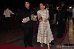 Randhi Kapoor and Karisma Kapoor during the Arpita Khan-Ayush Sharma's Wedding Reception In Mumbai