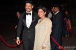 Farhan Akhatr and Zoya Akhtar during the Arpita Khan-Ayush Sharma's Wedding Reception In Mumbai