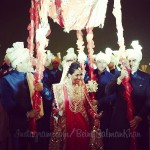 Salman Khan and Arbaaz Khan during the Arpita Khan-Ayush Sharma's Wedding