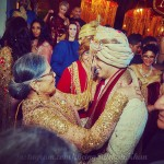 Salma Khan during the Arpita Khan-Ayush Sharma's Wedding
