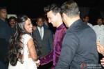 Salman Khan during the Arpita Khan-Ayush Sharma's Wedding Reception
