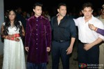 Salman Khan and Aamir Khan during the Arpita Khan-Ayush Sharma's Wedding Reception Pic 2