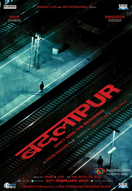 Badlapur Movie First Look Poster