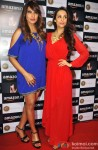 Bipasha Basu and Malaika Arora Khan during 'The Trunk Label' Press Meet Pic 1