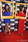 Bipasha Basu and Malaika Arora Khan during 'The Trunk Label' Press Meet Pic 2