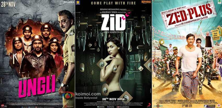 Ungli, Zid and Zed Plus Movie Poster