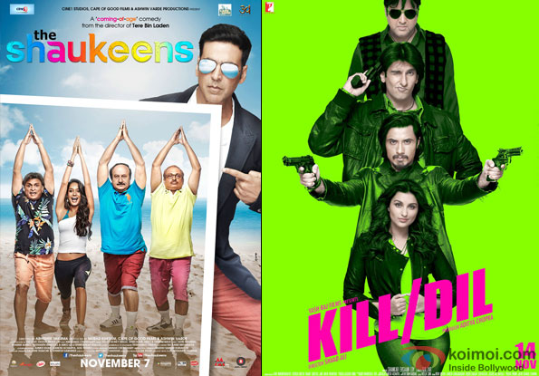 The Shaukeens and Kill Dil Movie Poster
