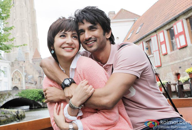 Anushka Sharma and Sushant Singh Rajput in a still from movie 'PK'