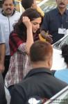 Deepika Padukone during the shooting of movie 'Piku'